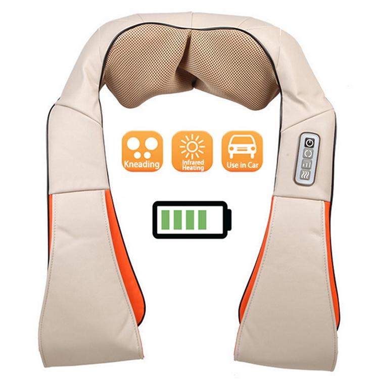 Battery Operated Shiatsu Neck and Back Whole Body Massager