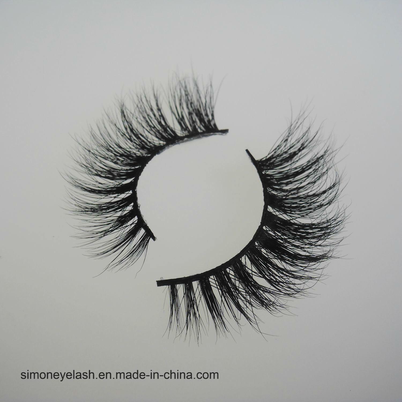 Siberian Mink Hair Lashes 3D Real Mink Fur Strip Eyelashes