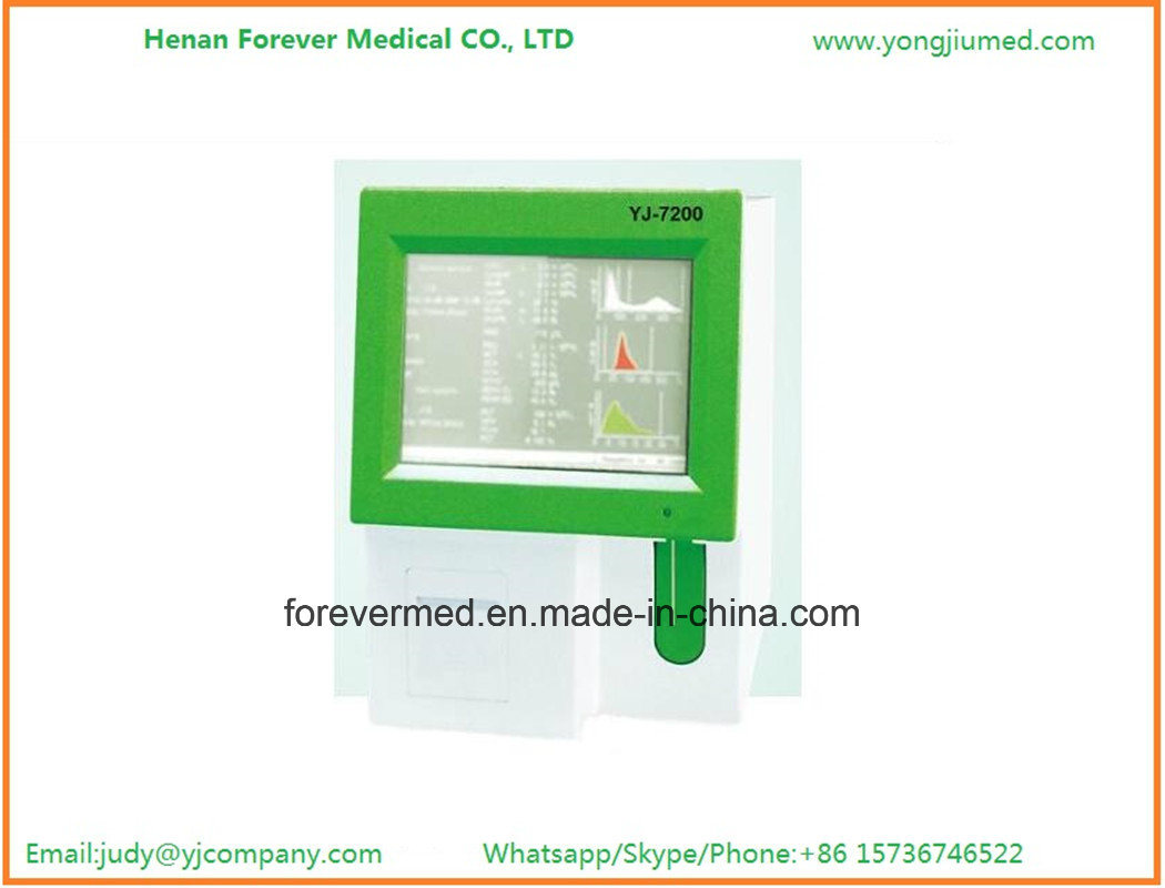 "3 Part 10"" LCD Screen Auto Cell Blood Counter"