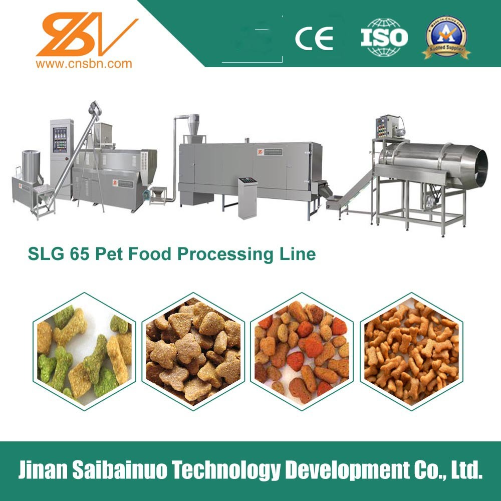 Factory Director Automatic Electricial Pet Food Making Machinery