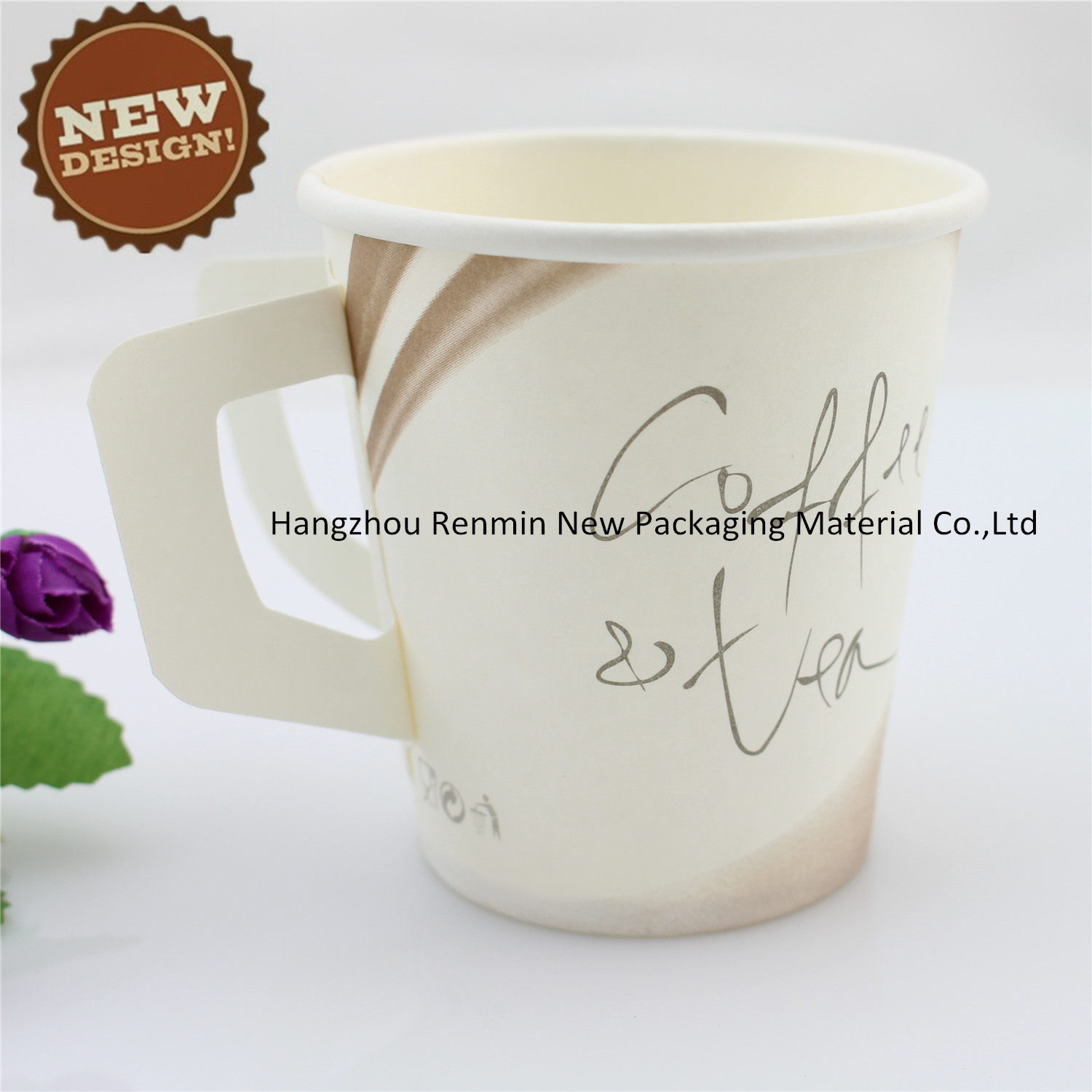 Disposable Printed Vending Hot Coffee Paper Cup