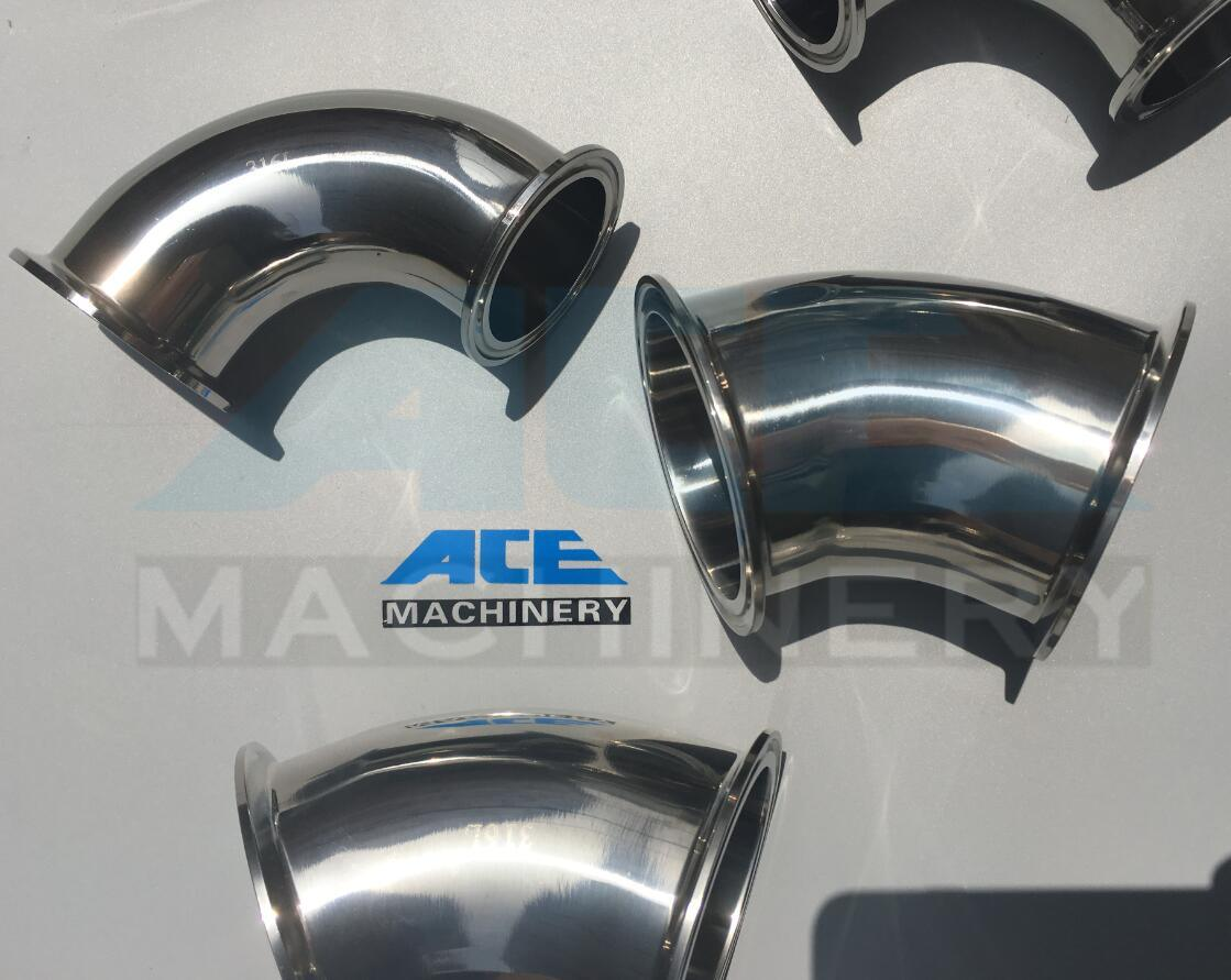 Stainless Steel Food Grade Welded 90d Elbow Pipe Fittings (ACE-PJ-W2)