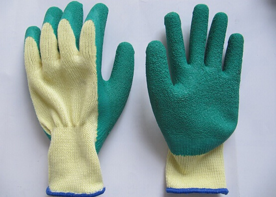 Latex Coated Palm and Fingertips Gloves 1202