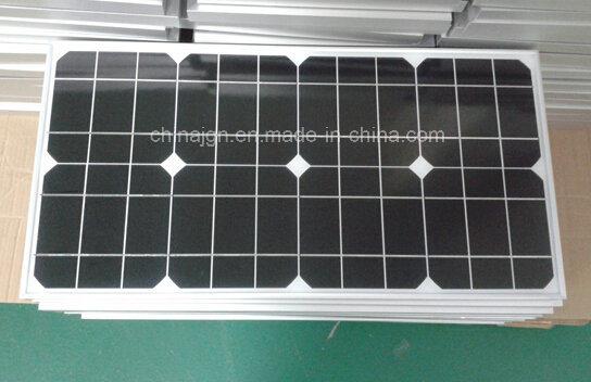 35W Monocrystalline Solar Panels for Solar LED Lighting Systems (JGN-35W-MONO)