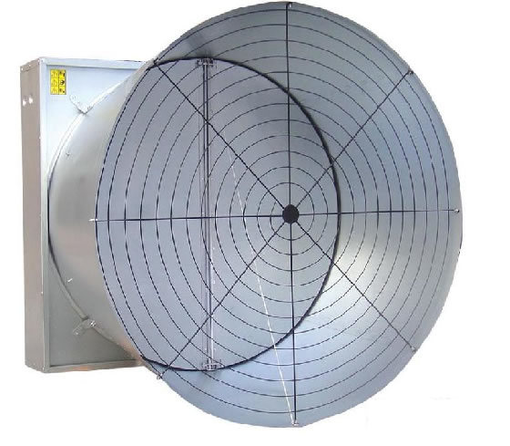 Livestock House Ventilation Cooling Shutter Exhaust Fan