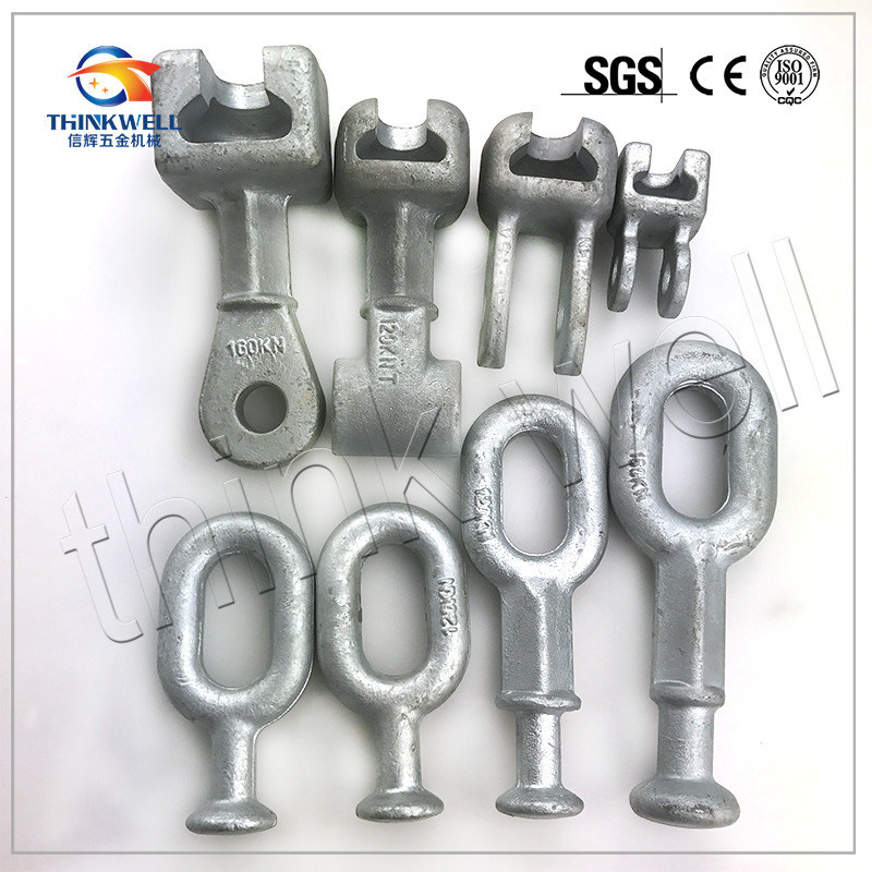 Forged Steel Galvanized Pole Line Hardware/Transmission Line Hardware