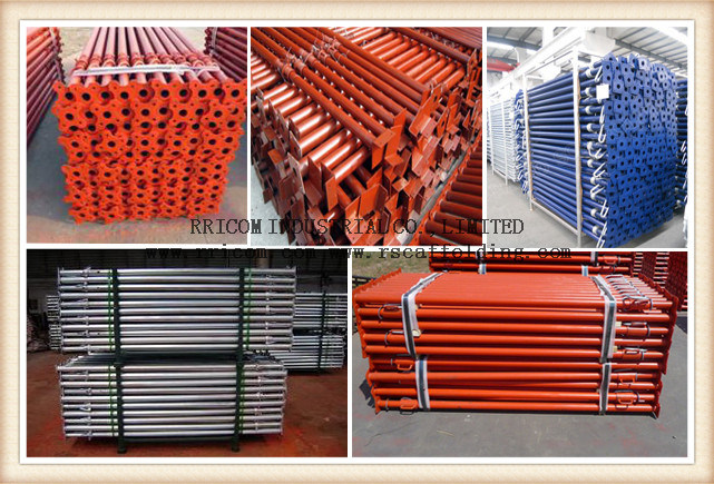 Powder Coated/Painting Scaffold Post Shorings/Steel Props for Formwork