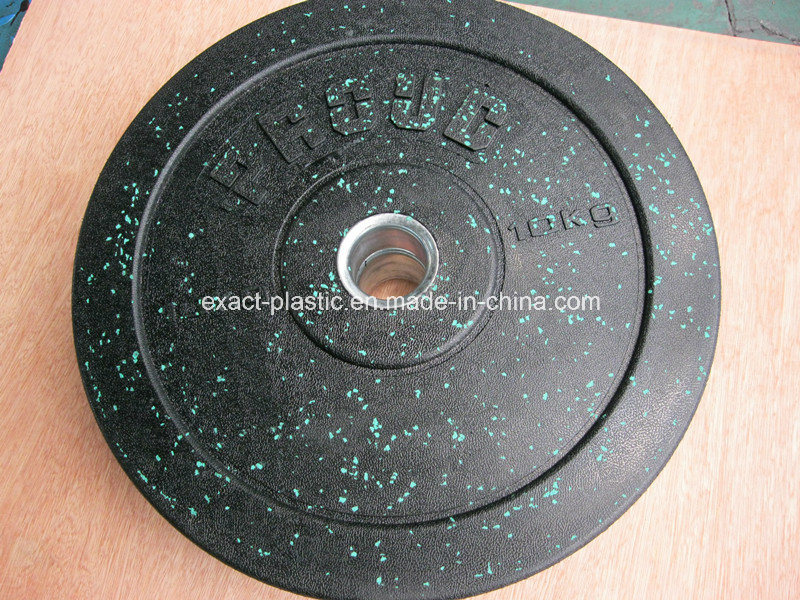 More Durable High-Temp Crumb Rubber Bumper Plates