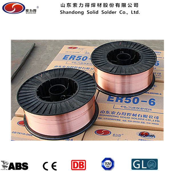 CO2 Gas Shield Welding Wire Er70s-6 MIG Welding Wire/Welding Materials