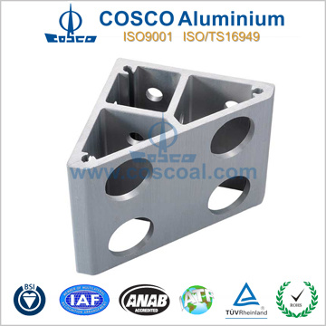 Customized Aluminum Profile with CNC Machining (ISO9001: 2008 certificated)