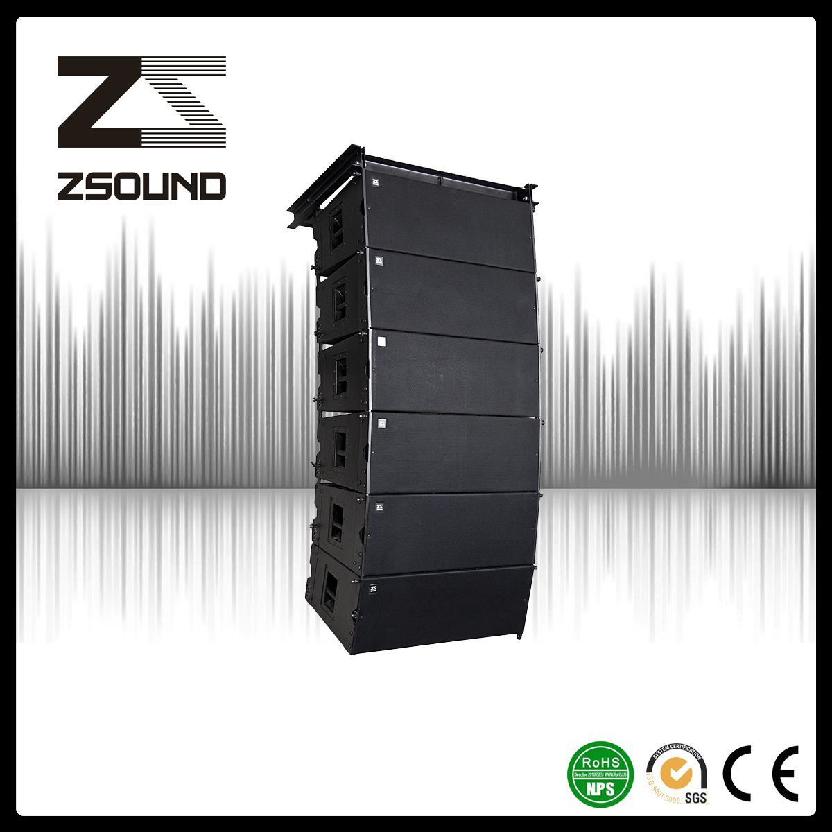 High Power Sound System Double 12 Inch Line Array