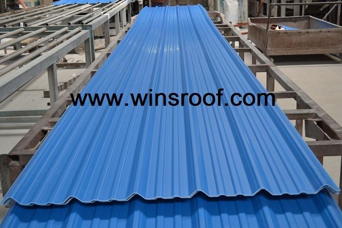 Winsroof Cubiertas En UPVC Roof Tile