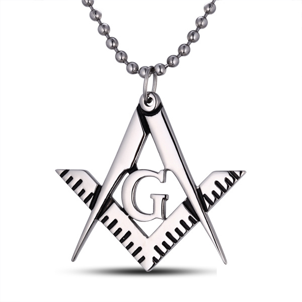 Hot Sell Masonic Design Stainless Steel Pendant
