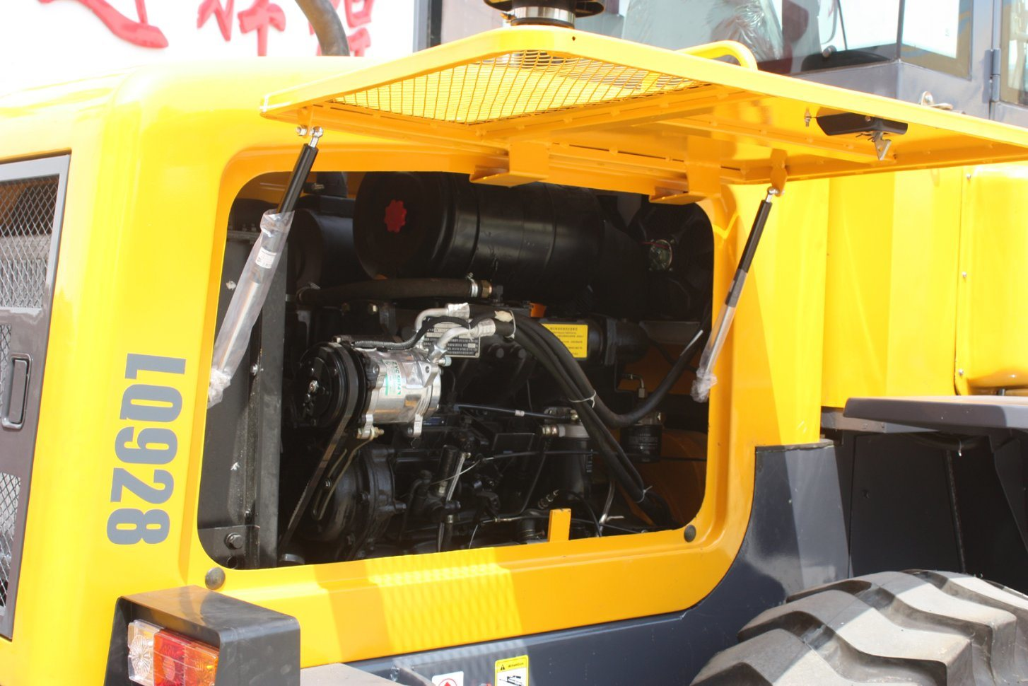 2.8 Ton 1.5cbm Bucket Hydraulic Medium Wheel Loader with CE