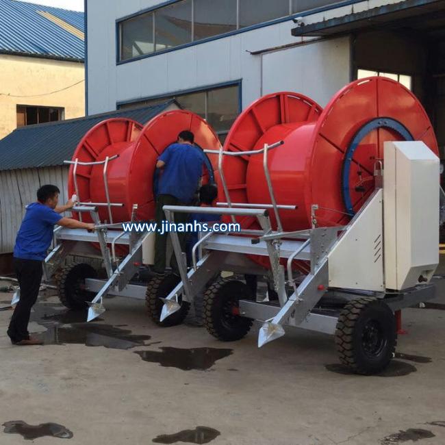 Retractable Sprinkler Hose Reel Irrigation System