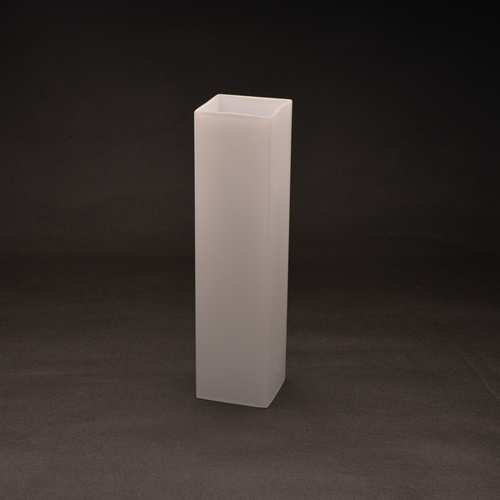 Hand-Blown Opal Square Glass Lamp Shade