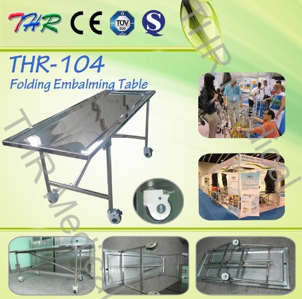 Funeral Foldable Embalming Table