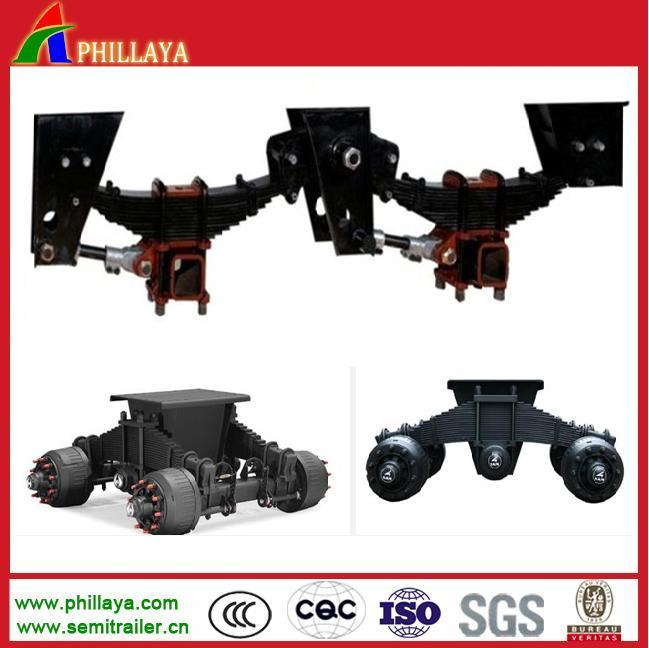 Semi Trailer Mechanic Air Bogie Truck Trailer Suspensions