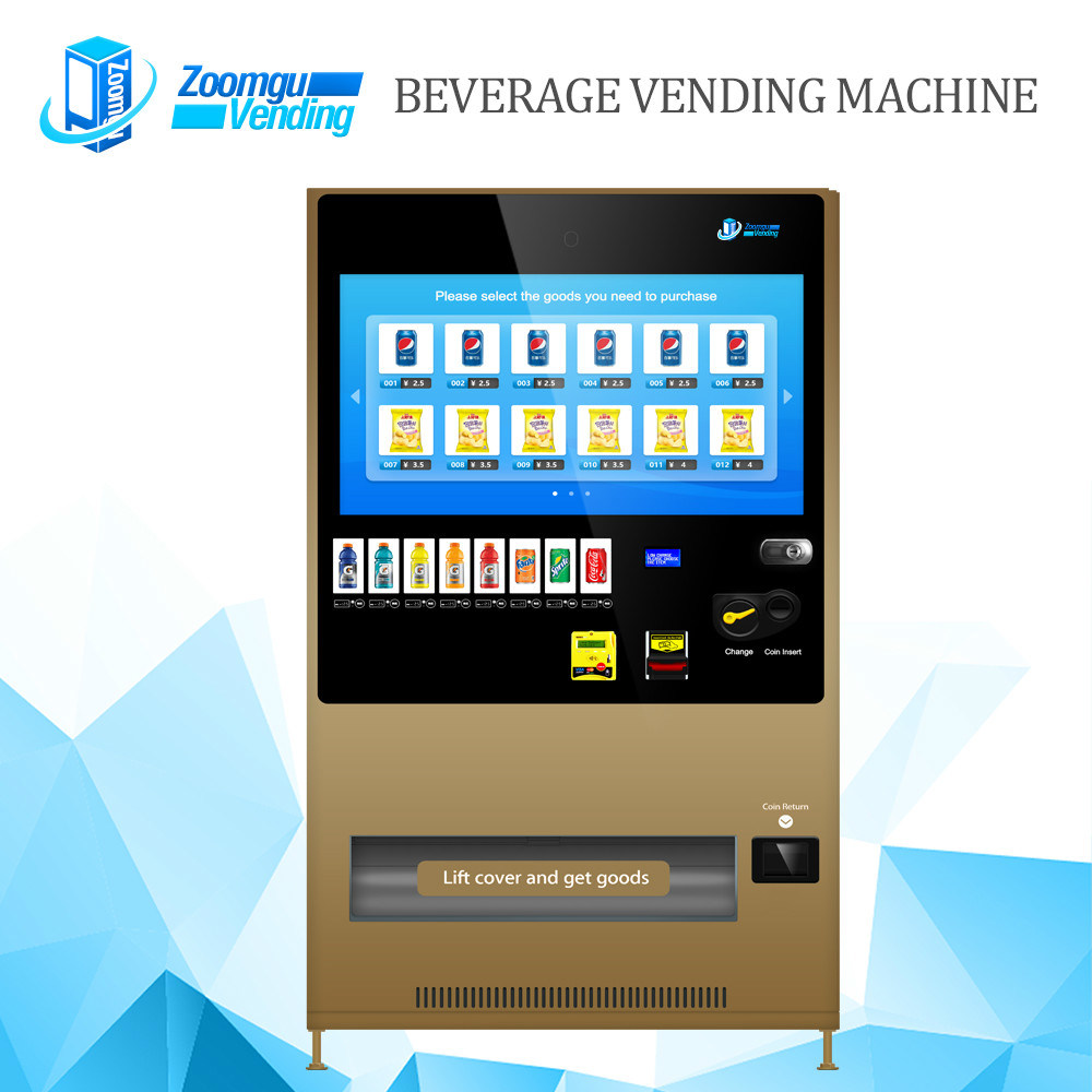 Touch Screen Vending Machine for Cold Beverage Zg-Mcs (43HP)