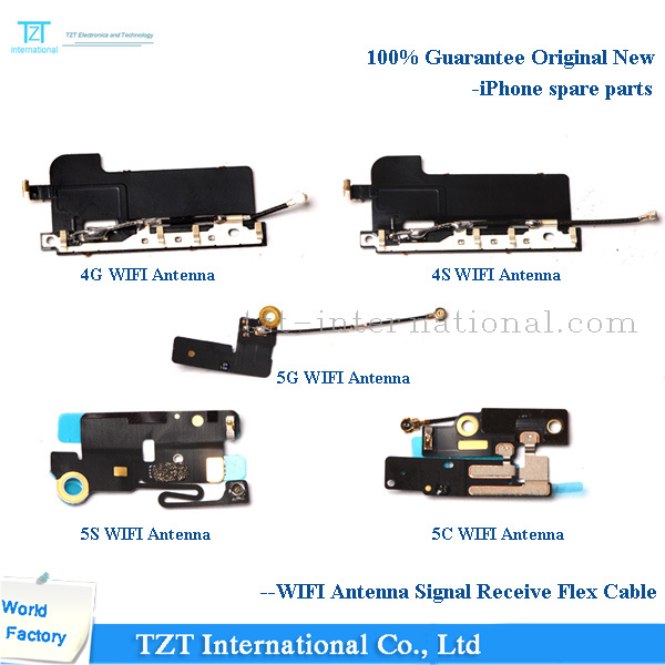 Hot Selling Mobile Phone Flex Cable WiFi Antenna for iPhone 4/5/6