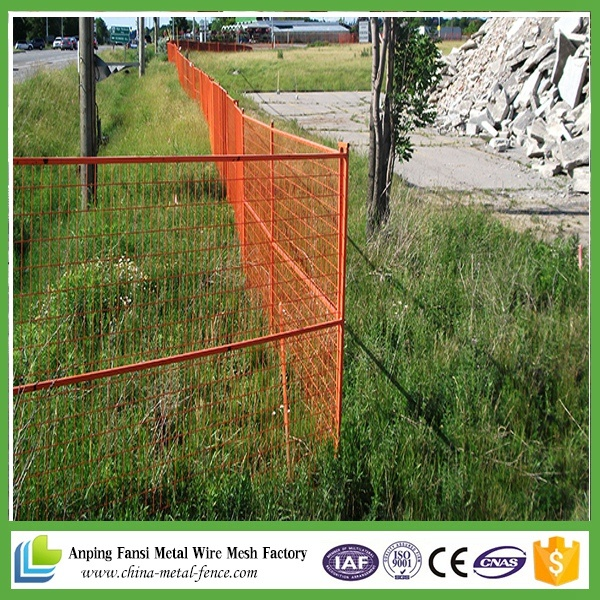 6FT High Construction Portable Fence