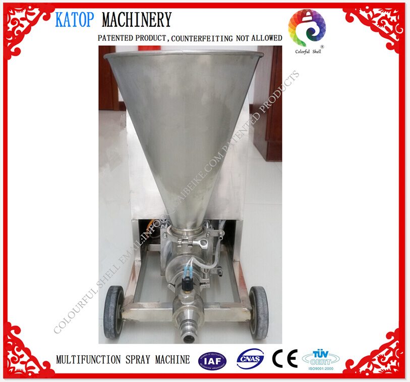 Spray Coating Machine for Gypsum Putty