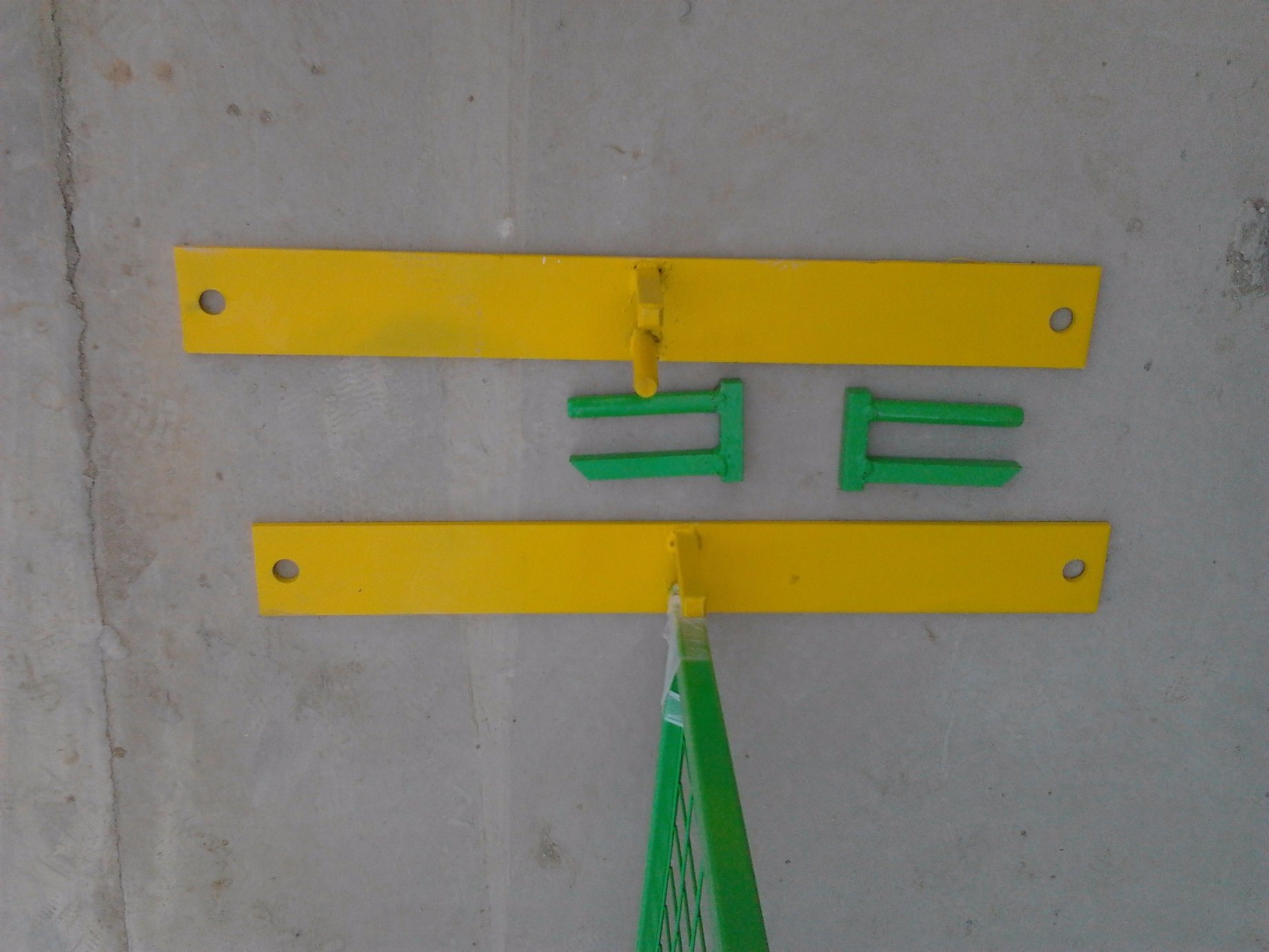 """6FT X 10FT Weld Mesh 2""""X2′electrostatic Powder Coated Temporary Construction Fence Panels"""
