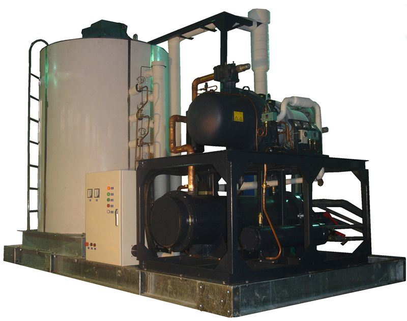 Flake Ice Machine for Chemical Industry