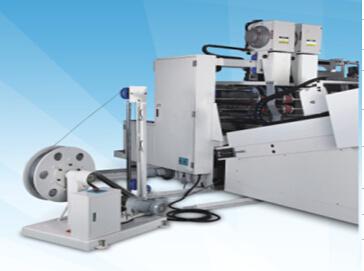 Flexo Printer Gluer Stitchier Machine