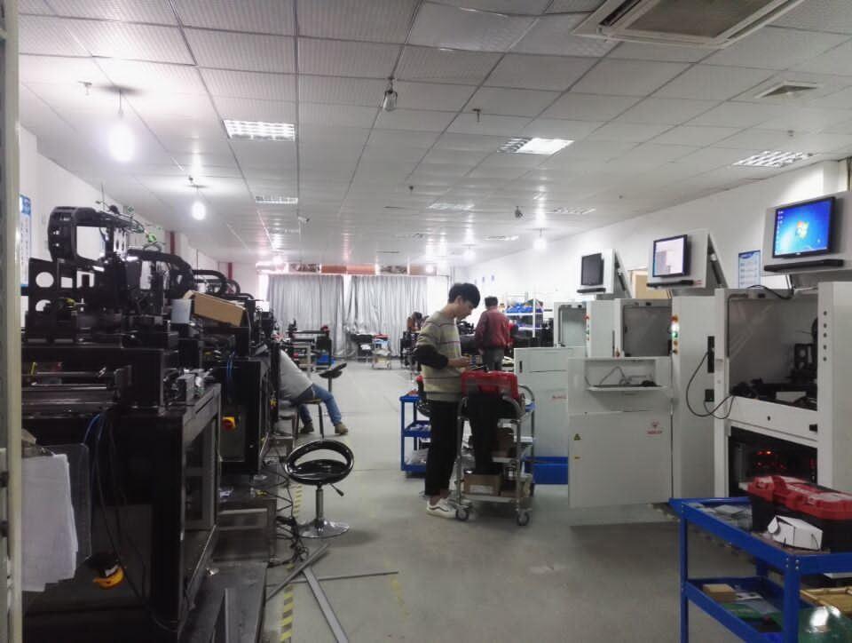 3D Solder Paste Inspection Equipment Desktop Spi T-2010A PCB Board
