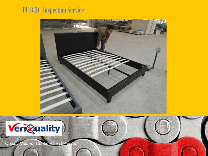PE Bed Quality Control, Furniture QC Inspection Service and Quality Control Service