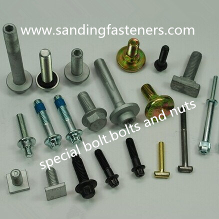 Gr8 Zinc Plated Carbon Steel Special Bolt/Bolt and Nut