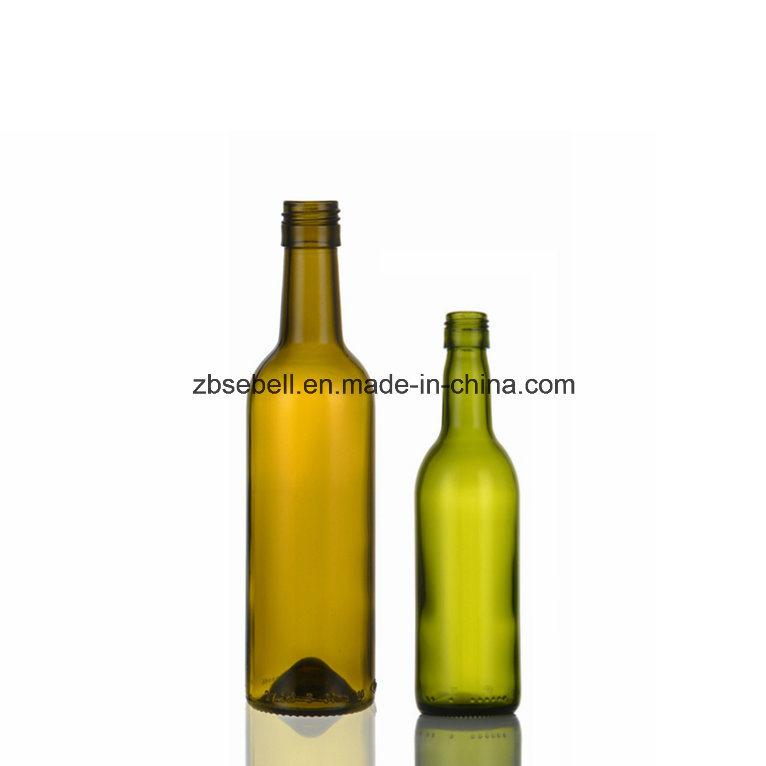 375ml, 187ml Bvs Top Bordeaux Glass Wine Bottle