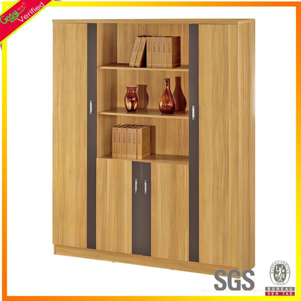 Cabina de madera del cabinete de archivo storage de la for Gabinetes para oficina