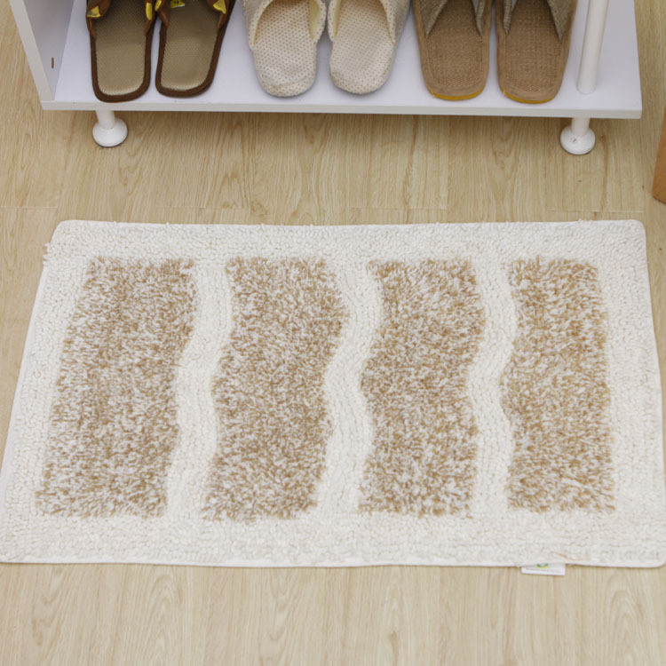 100% Cotton Chenille Bath Rugs with Cotton Backing (COT0140)