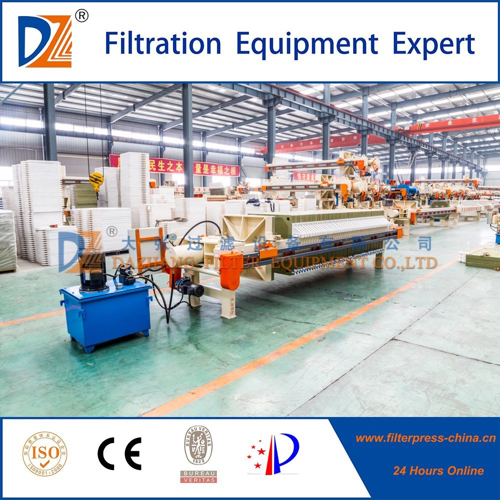 2017 Fully Automatic Program Controlled Chamber Filter Press