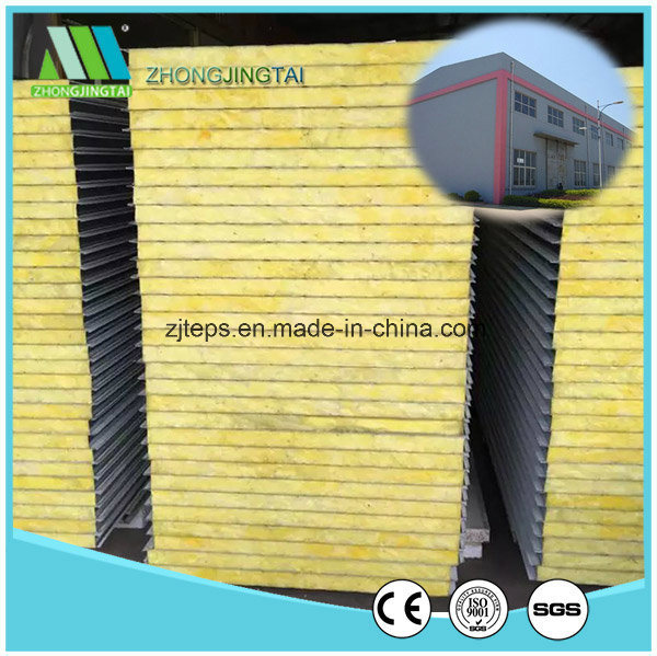 Metal Building Material EPS/Rock Wool/Glass Wool/PU Sandwich Panel for Wholesaler