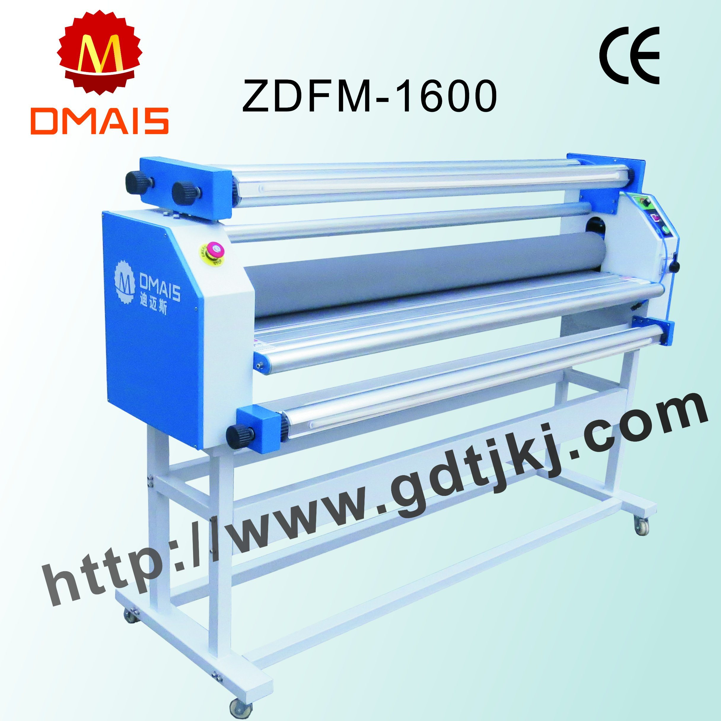 Roll to Roll Cold Film Laminating Machine for Printing