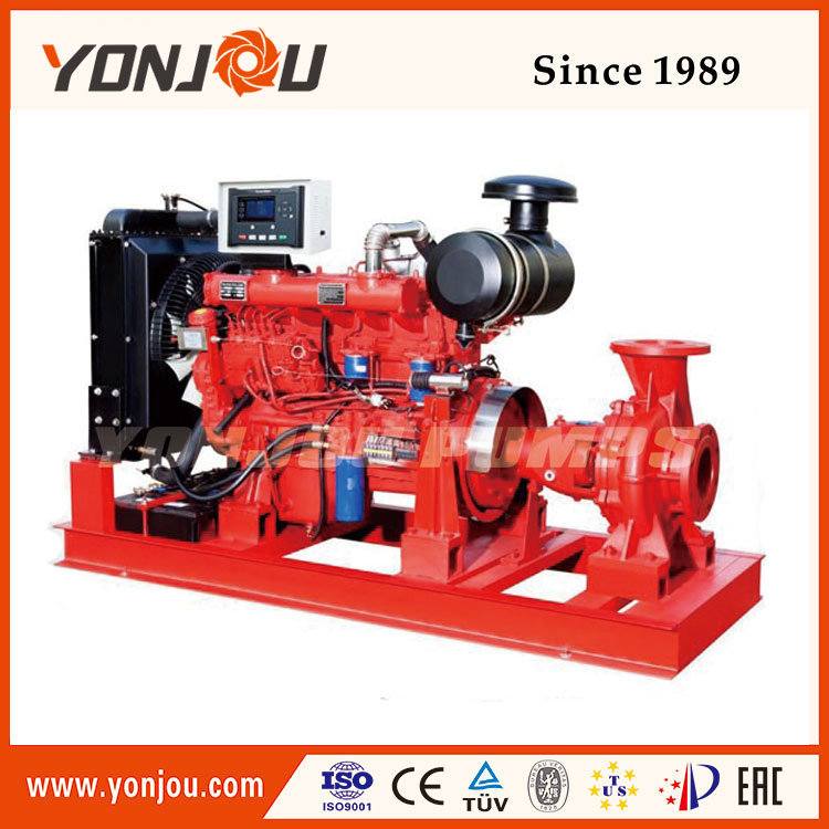 Fire-Fighting Water Pump with Diesel Engine
