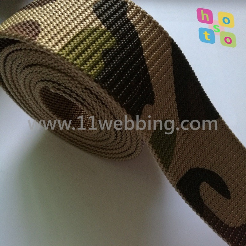 High Tenacity Nylon/Polyester/PP/Cotton Webbing for Army Military Tactical Combat Waist Belt and Vest