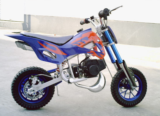 49cc  2 stroke dirt bike  gng