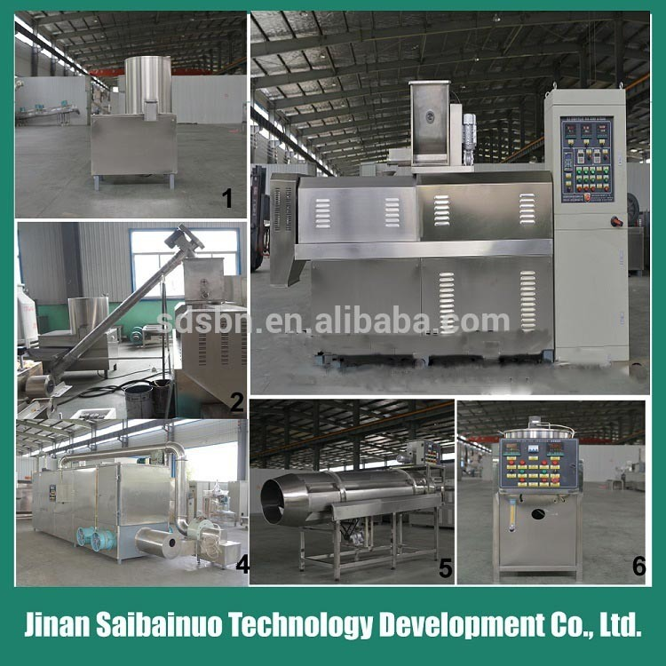 Double Screw Extruder Fish Food Machinery