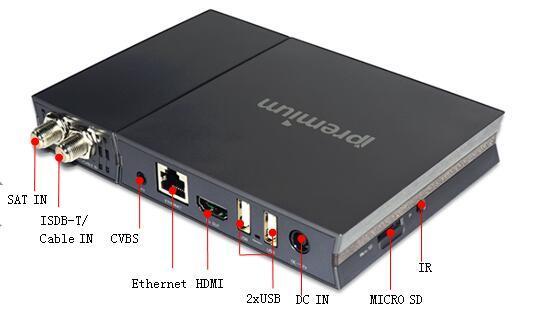 Quad Core Recever IPTV/Ott Set Top Box with Mickhop APP
