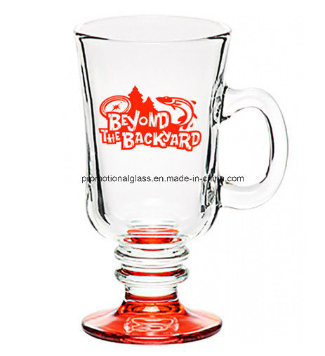 Colored Bottom Glass Beverage Cup, Drinking Glass