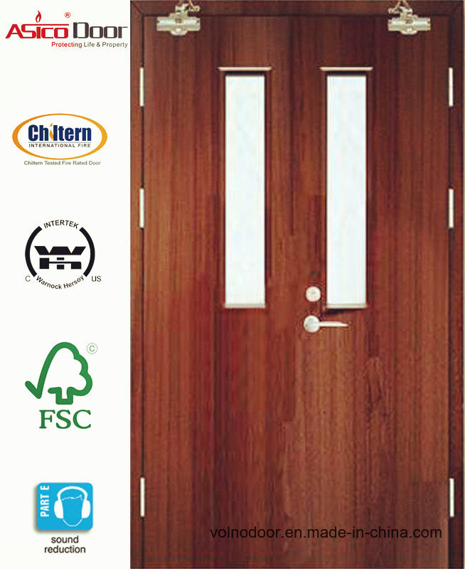 BS476 Wooden Fire Door Apartment Commercial Hotel Used