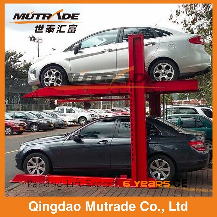 Two Post Simple Hydraulic Smart Car Parking Equipment