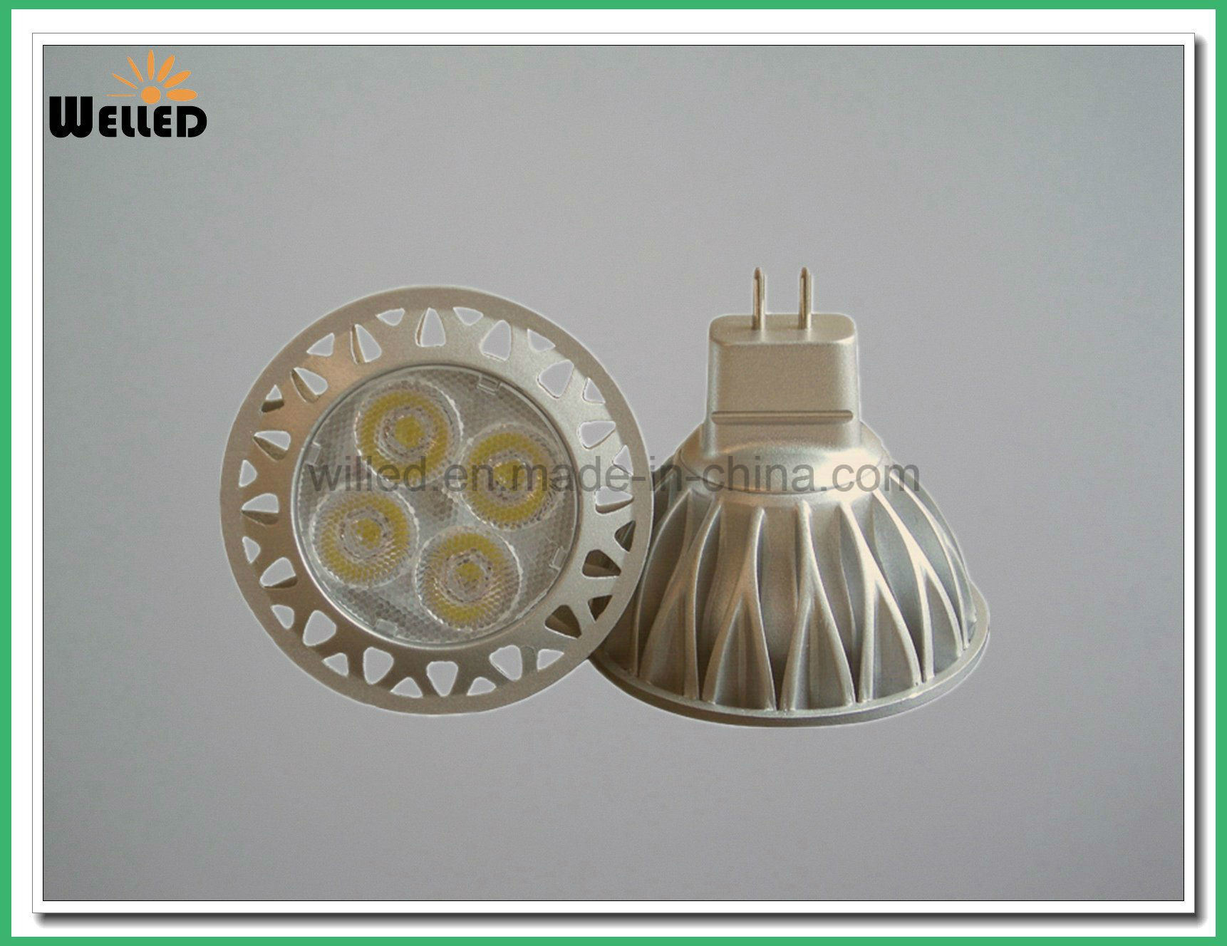 DC12V Retrofit LED MR16 Bulb Light 5W 6W LED Spot Lighting with Ce RoHS for 50W Replacements