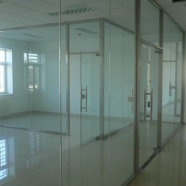 China building glass tempered glass for outside door for Inside outside doors