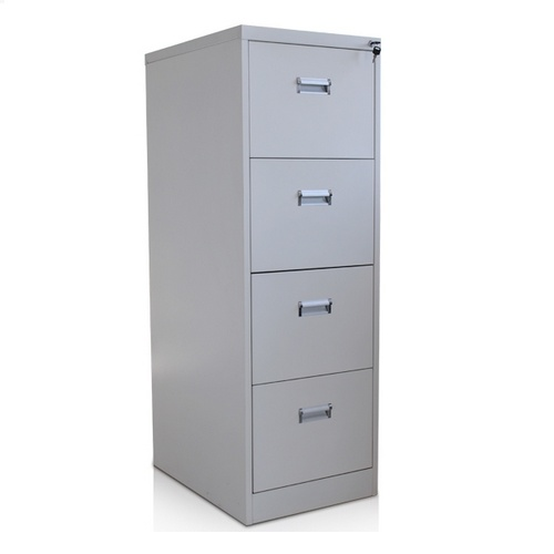 Factory Favorable Price 4-Drawer Metal File Cabinet /Book Shelf