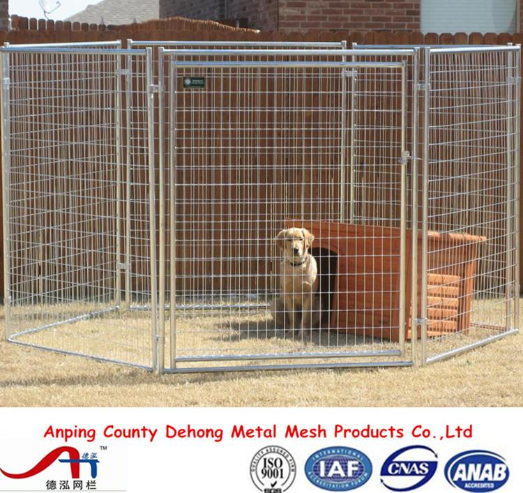 Powder Coated Dog Kennel, Dog Run, Dog Cage, Dog Fence for Sale